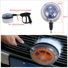 Car Pressure Washer Rotating Wash Brush Car Washing Tool With 1/4''Quick Connect