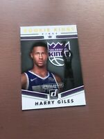 2017-18 Panini - Donruss Basketball - Harry Giles Rookie Card - Sacramento Kings