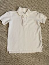 Gap Kids Boy's Size Small White Button Polo Shirt Short Sleeve Guc
