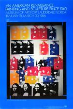 Andy WARHOL Mona Lisa Collage 1986 Pop Art Exhibition Poster