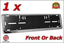 1x Delux Chrome Car Custom Number Plate Licence Holder Mazda MX-5 MX5