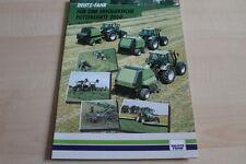 127588) Deutz Fahr - Modellprogramm - Prospekt 11/1999