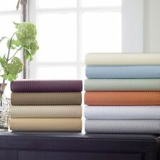 Elegant Bedding's 1800TC Luxury Hotel Stripe Pillowcases, 100% Cotton