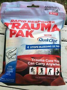 Adventure Medical Rapid Response Trauma Pak with QuikClot Tactical Medicine