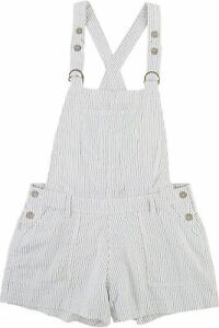 Wallflower Juniors Pinstripe Overalls