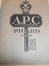 Catalogue quincaillerie PICARD 1926 cadenas - clés - serrures - 3500 illus (ref1