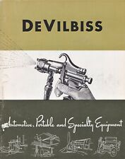 DeVilbiss Automotive, Portable and Specialty Equipment Catalog DI-B 1947
