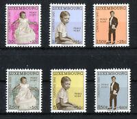 Luxemburg Nr. 649 - 654 ** postfrisch Caritas 1961 MNH