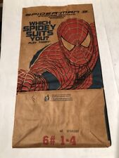 Spiderman 3, 2007 Burger King Bag ( Canadian )