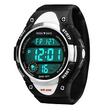 Kids Sports Digital Watches for Boys 5 ATM Waterproof Outdoor Sport Watch With
