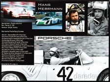 2012 Hans Herrmann Porsche 917 12 Hours of Sebring photo postcard