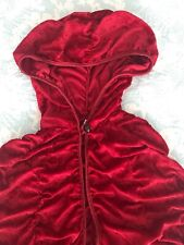 RED Velvet Long Cloak CAPE HALLOWEEN ONE SIZE Princess, Renaissance, Costume