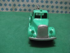 Vintage Tootsietoy TANK STOCKAGE D'OUTIL/REMORQUAGE Camion Chicago USA 1952