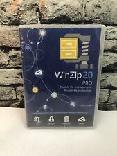 WinZip 20 Pro For Windows File Management and Protection