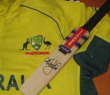 Andrew Symonds signed Gray Nicolls mini cricket bat+COA & Photo proof of signing