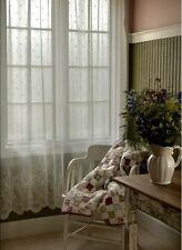 "Heritage lace Floret pattern Panel - 60""x 84"" length Floral ( White)."