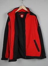 WELLENSTEYN JET-JACKE Men's LARGE Water Repellent Fleece Shell Jacket 20022_JS