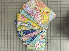 OOP Freespirit Fabric Dena Designs Little Azalea Fabric Fat Quarter Bundle