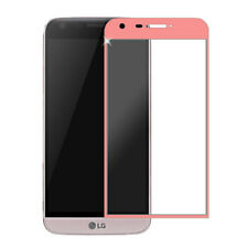 Pink Full Cover Curved Edge Tempered Glass Screen Protector Guard For LG G5