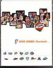 1999 WNBA BASKETBALL YEARBOOK NEW YORK LIBERTY TERESA WEATHERSPOON REBECCA LOBO