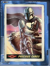 Topps Star Wars Card Trader Mandalorian FTOR Precious Cargo Tungsten Gilded