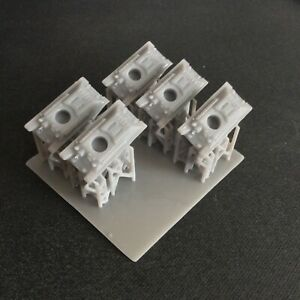 Pack of 5 T34 76   Resin 1:285 Scale For Micro Armour