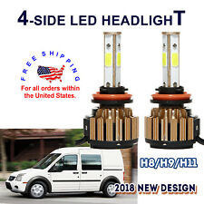 2x H11 LED Headlight Bulb 560W 6000K White For Ford Edge Escape F-150 Expedition