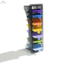 WAHL Hair Clipper 8 Pack Color Coded Cutting Guides Tray 3170-400 Wahl Guards