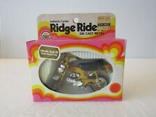 1974 ZEE TOYS RIDGE RIDERS GOLD HONDA TRAIL 70 DIECAST MOTORCYCLE 1:16 IN BOX