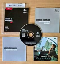 CD drivers & software - Logitech Formula GP Racing Wheel - Win 98 ME 2000 XP