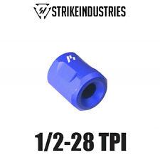 "Strike Industries Lightweight Barrel Thread Protector 1/2-28 TPI .70"" OD - Blue"