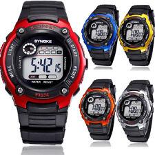 US Kids Child Boy Sports Electronic Watch Multifunction Girl Waterproof Watches