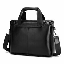 Men Genuine Leather Handbags Casual Leather Laptop Bags Male Business Travel