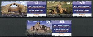 Armenia Stamps 2020 MNH Historical Cultural Monuments Bridges Monasteries 3v Set
