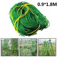 Heavy-Duty Garden Trellis Netting Climbing Plants Support Net Fruits Vine Veggie