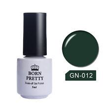5ml Soak Off UV Gel Polish Nail Art Topcoat Base Coat Gel Varnish BORN PRETTY