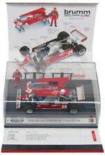 Brumm Ferrari 126CK Monaco GP 1981 - Didier Pironi 1/43 Scale