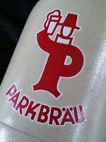 Vintage German Parkbräu stoneware salt glazed beer stein 0.5L.