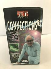 Connections 3 TLC Video Host James Burke Boxed Set of 5 VHS Vintage Science