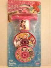 Disney Princess Toy Top 3 Pieces-Christmas Stocking Stuff, Party Favor