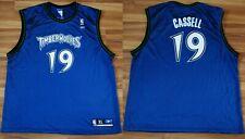 MINNESOTA TIMBERWOLVES NBA SHIRT JERSEY #19 SAM CASSELL REEBOK SIZE XLARGE MENS
