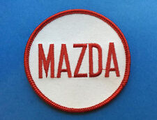 Rare 1980's Mazda Car Auto Club Iron On Biker Vest Jacket Backpack Hoodie Patch