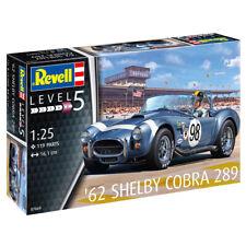 Revell 07669 Shelby AC Cobra 289 '62 Racing Car Plastic Model Kit Scale 1/25
