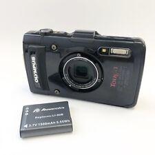 Olympus Tough TG-2 Waterproof 12.0MP Digital Camera - Black
