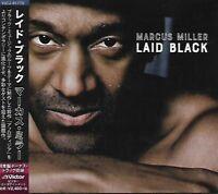 MARCUS MILLER - Laid Black - CD - Victor - VICJ-61775 - Jazz - Funk - Japan