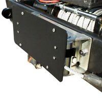 Winch Roller Fairlead License Plate Bracket Mount Universal Jeep Truck Wrangler