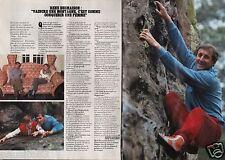 Coupure de presse Clipping 1984 René Desmaison  (2 pages)