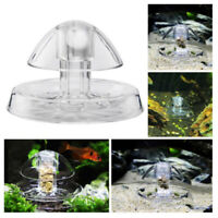 Useful Snail Trap Catcher Aquarium Fish Plant Tank Plastic Clear Pest Catch ~ YK