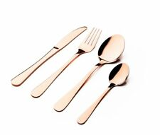 Copper 16 Piece 18/0 Stainless Steel Cutlery Set
