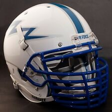 "*CUSTOM* AIR FORCE FALCONS Schutt AiR XP AUTHENTIC Football Helmet ""BIG GRILL"""